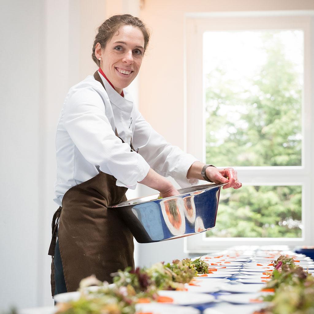 Catering vorbereitung steffi kerber-reichel