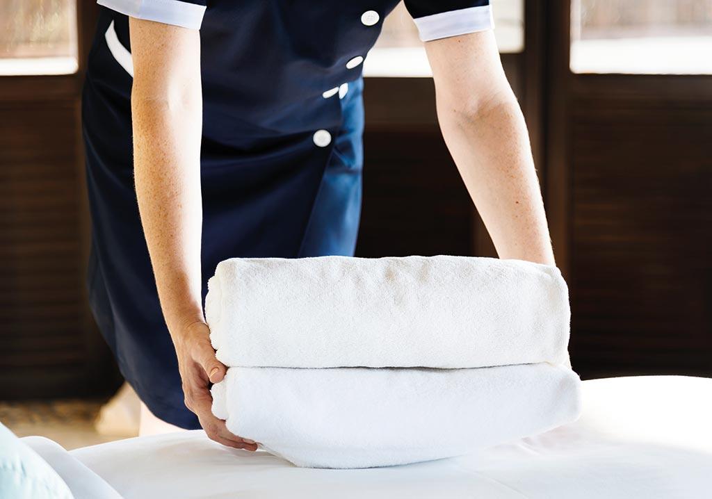 Hauskeeper und Hausdame