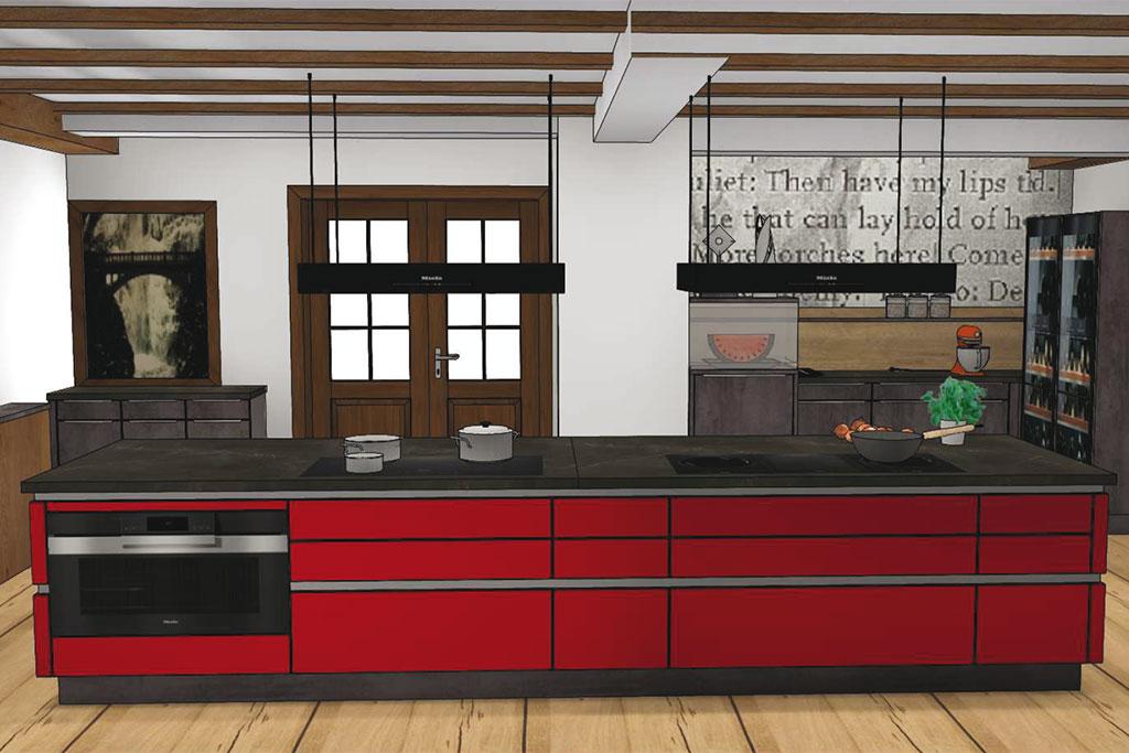 Küche Kochwerkstatt Trakehnerhof