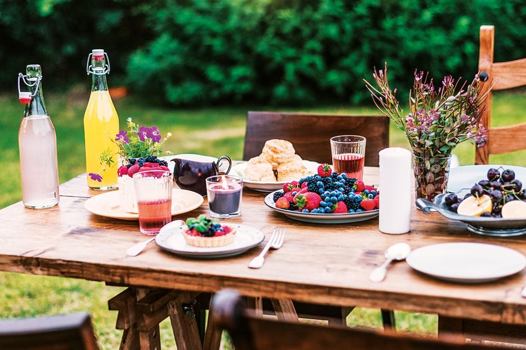 Indoor- und Outdoor-Kochkurse