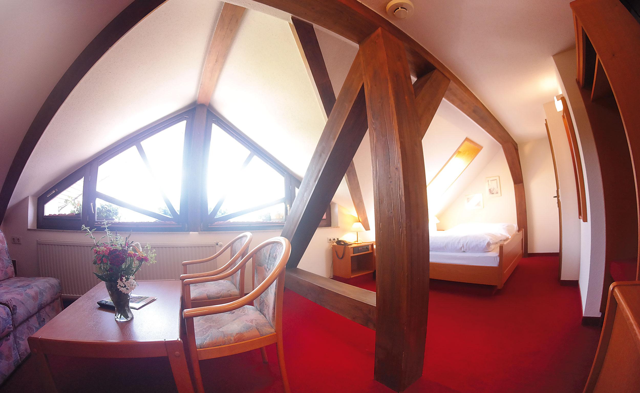 Komfortzimmer im Trakehnerhof